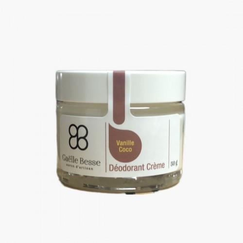 Déodorant Crème Vanille / Coco Gaëlle Besse
