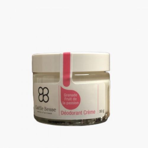 Déodorant crème Grenade Fruit de la passion Gaëlle Besse