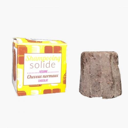 Shampoing solide cheveux normaux au chocolat - Lamazuna