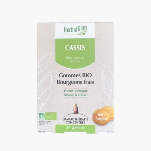 Cassis 24 gommes gemmothérapie Herbalgem