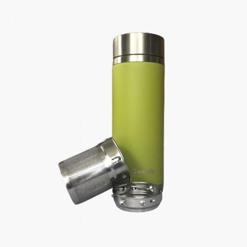 Théière Nomade Vert 300mL Qwetch filtre