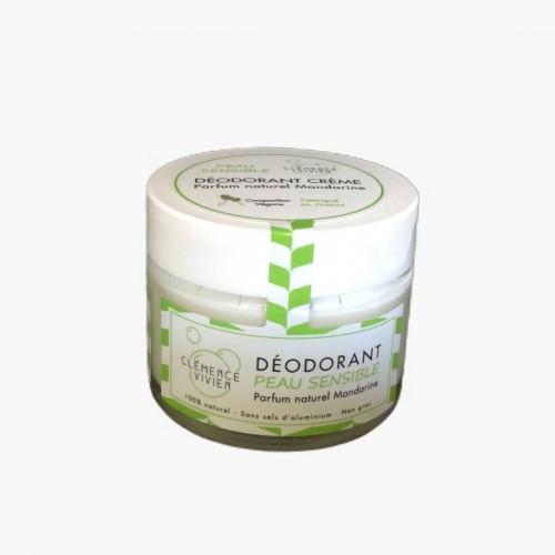 Déodorant peau sensible à la mandarine Clémence et Vivien