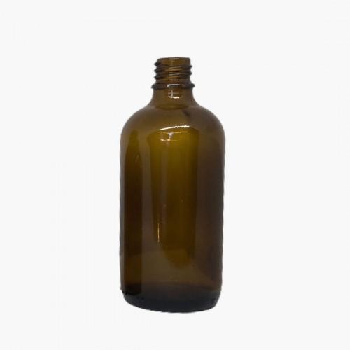Flacon en verre jaune 100ml
