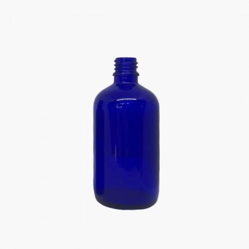 Flacon en verre bleu 100ml