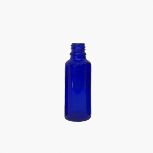 Flacon en verre bleu 30ml