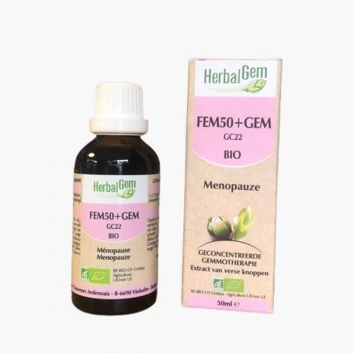 Fem50+Gem complexe gemmothérapie Herbalgem