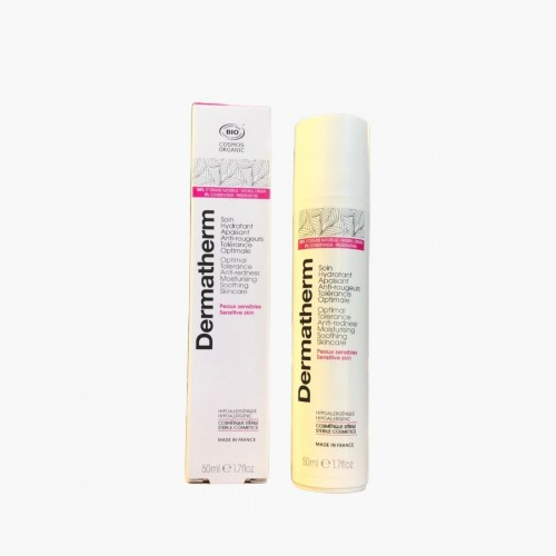 Soin  hydratant apaisant anti-rougeurs tolérance optimale Dermatherm 50ml