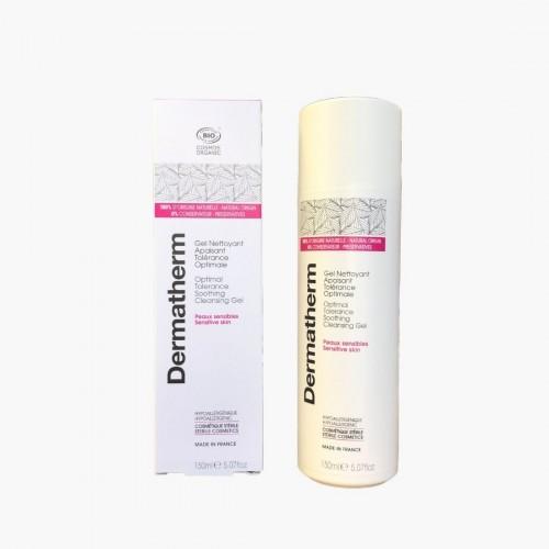 Gel nettoyant apaisant tolérance optimale Dermatherm 150ml