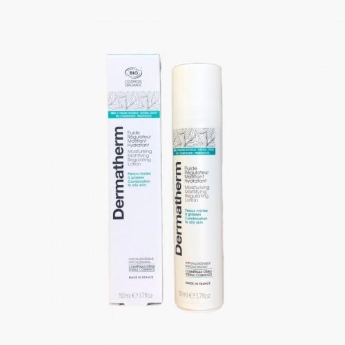 Fluide régulateur matifiant hydratant Dermatherm