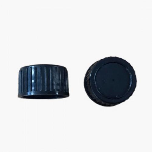 Capsule jointée noire DIN 18