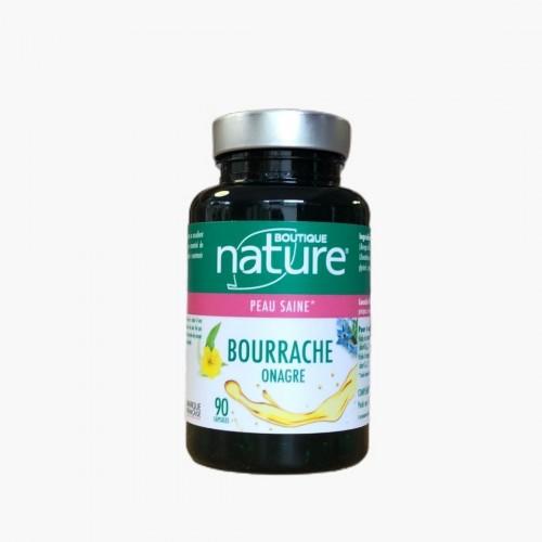 Bourrache / Onagre  Boutique Nature 90 gélules