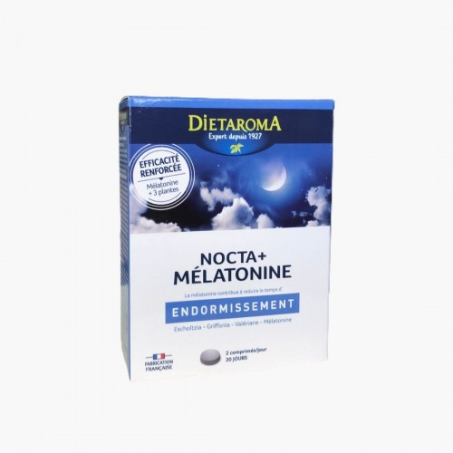 Nocta + Mélatonine - Endormissement Dietaroma
