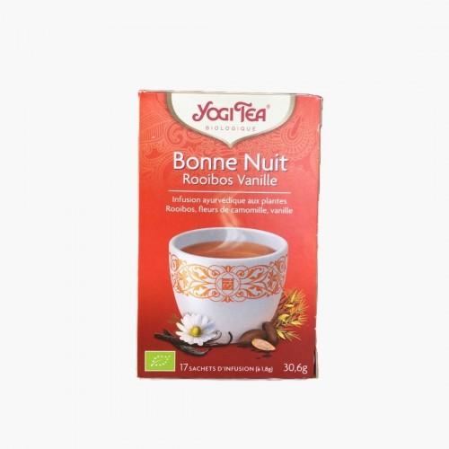 Infusion Bonne nuit rooibos vanille Yogi Tea