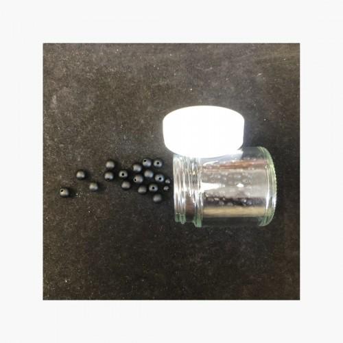 Perles Agate noire mate / Onyx mat 4 8 et 10 mm