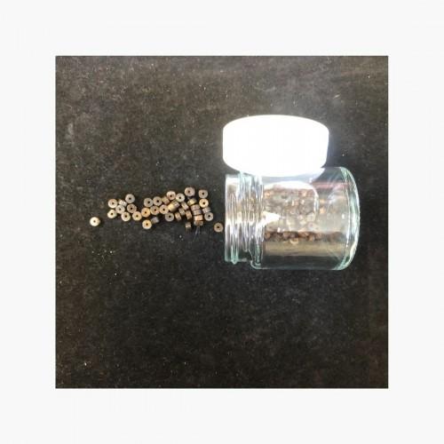 Perles Bronzite 2 x 4 mm