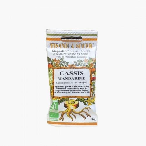 Tisane à sucer Cassis Mandarine
