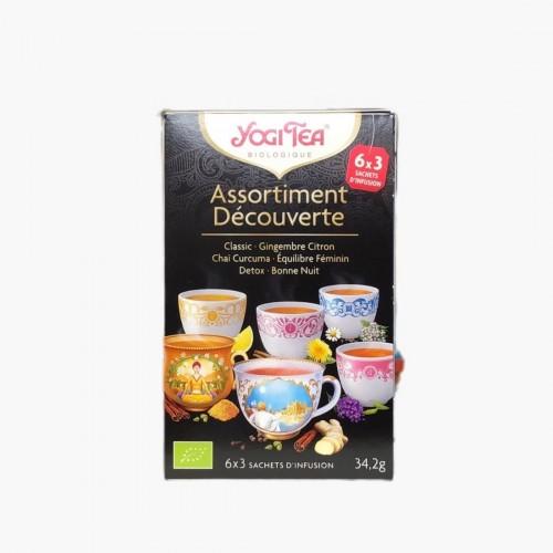 Assortisement découverte Yogi Tea