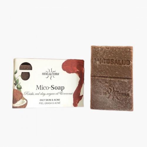 Mico-soap - Peau grasse et acnéique Hifas da Terra