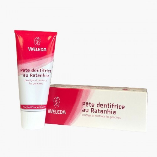 Pâte dentifrice - Ratanhia Weleda