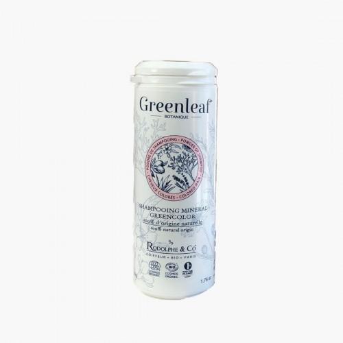 Shampoing minéral Greencolor Greenleaf botanique