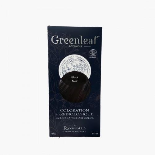Coloration végétale BIO - Noir / Black Greenleaf botanique