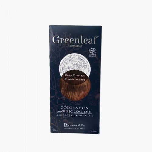 Coloration végétale BIO - Châtain intense / Deep chestnut Greenleaf