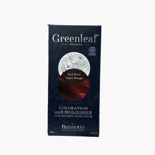 Coloration végétale BIO - Vigne rouge Greenleaf botanique