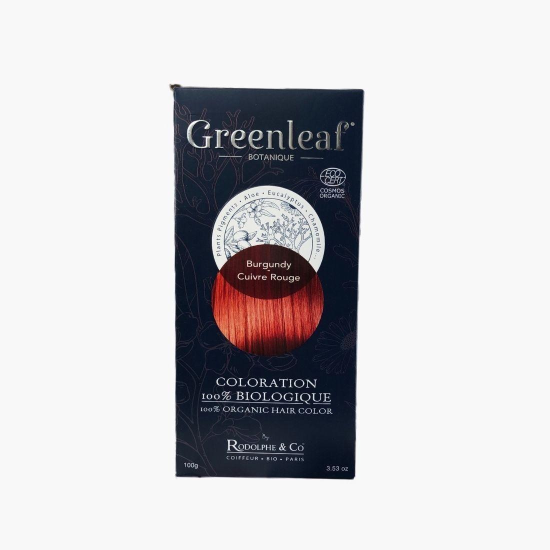 Coloration végétale BIO - Cuivre rouge Greenleaf botanique