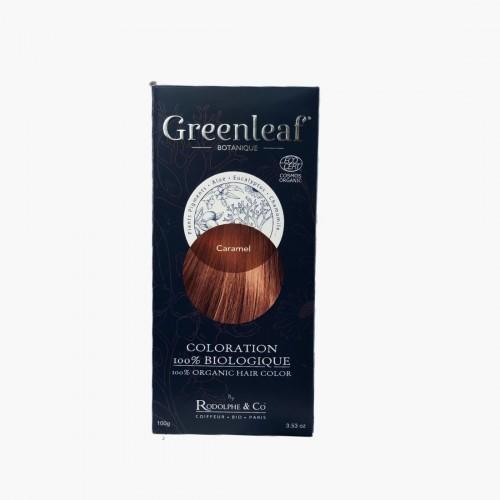 Coloration végétale BIO - Caramel Greenleaf botanique