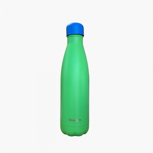 Colors Vert 500ml Qwetch bouteille isotherme