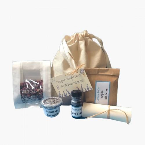 Kit Masque réconfortant & Sel de bain calmant