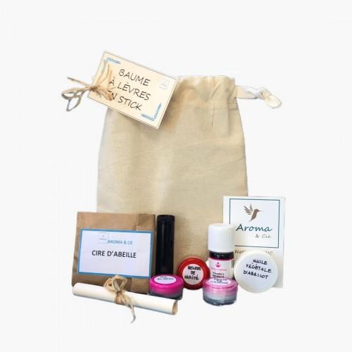Kit baume à lèvres x3 DIY cosmétique