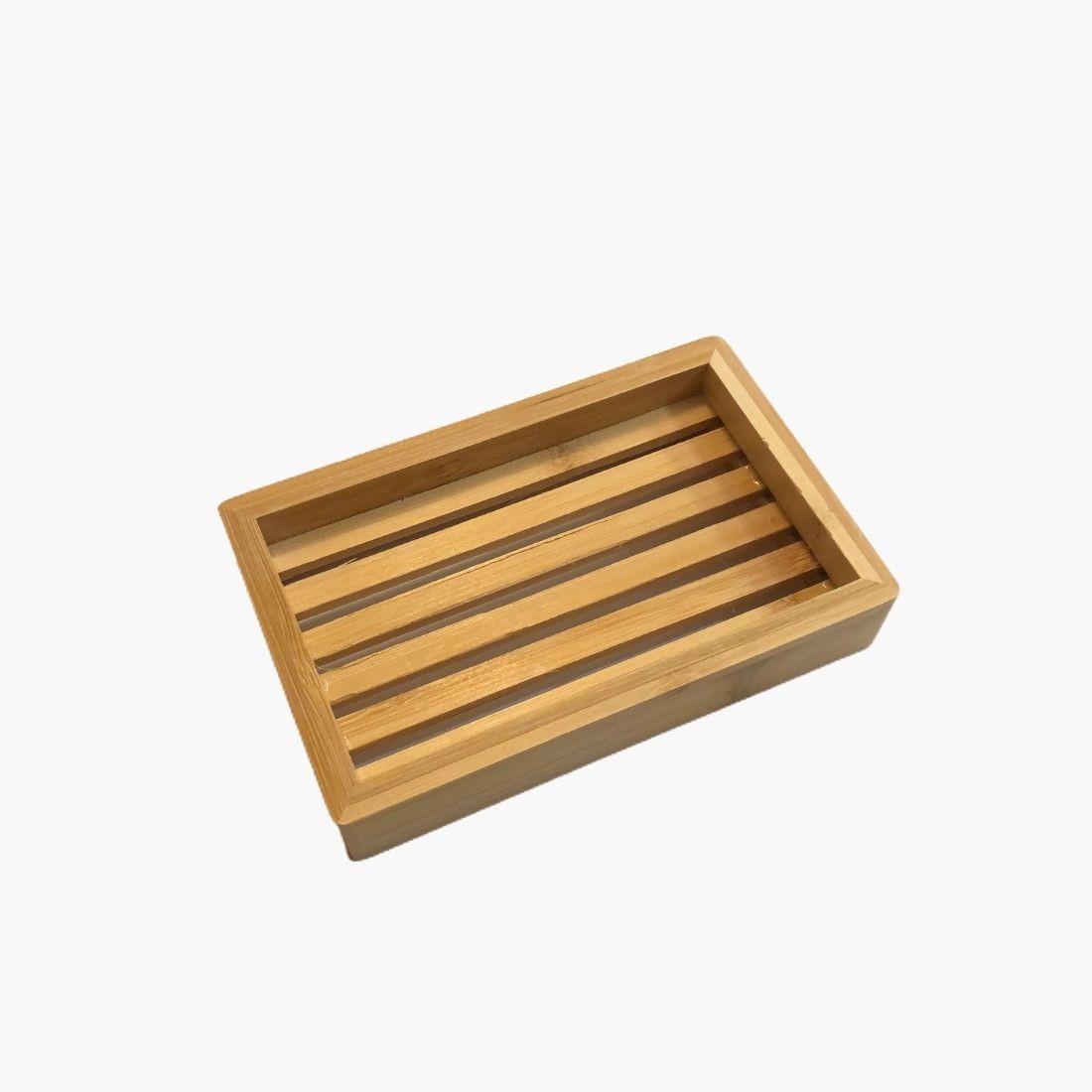 Porte-savon bambou 14x9x2,5