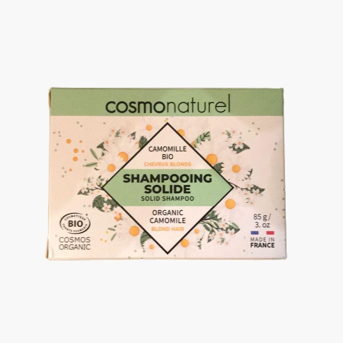 Shampoing solide BIO - Cheveux blonds Cosmo naturel