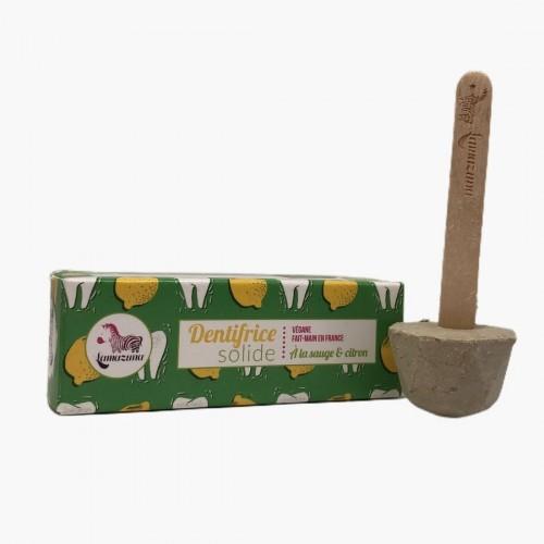 Dentifrice solide à la sauge et au citron Lamazuna