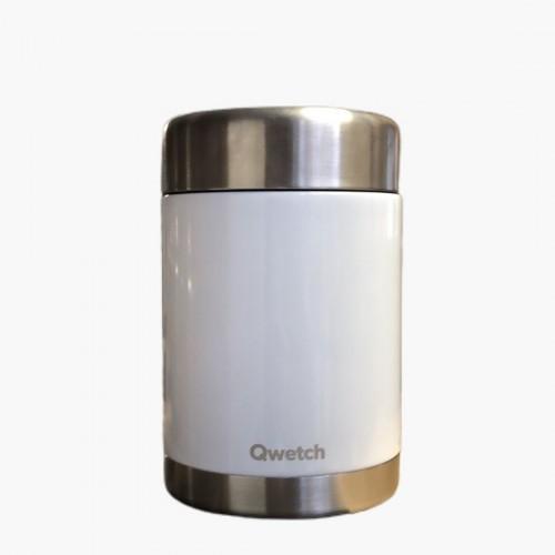 Boîte repas blanche Qwetch 500mL