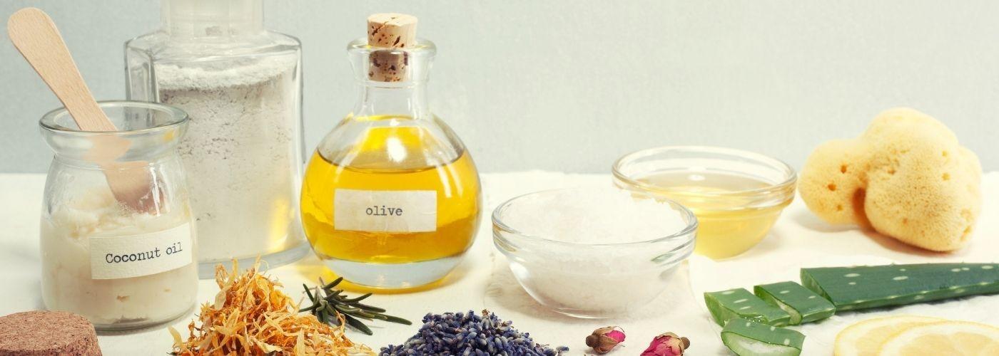 Ingrédients pour la réalisation de produits cosmétiques maison